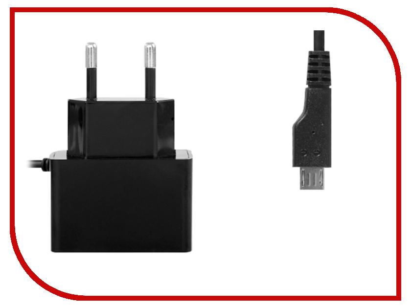 Зарядное устройство Ainy Micro USB+USB 2000 mAh EA-032A Black зарядное устройство ainy 2xusb 1a 2 4a ea 029b black