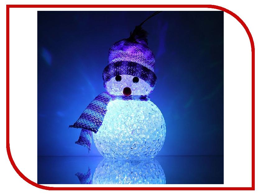 Новогодний сувенир Luazon Снеговик Violet 1077490