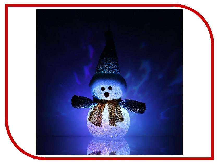 Новогодний сувенир Luazon Снеговик новогодний Blue 1077492<br>