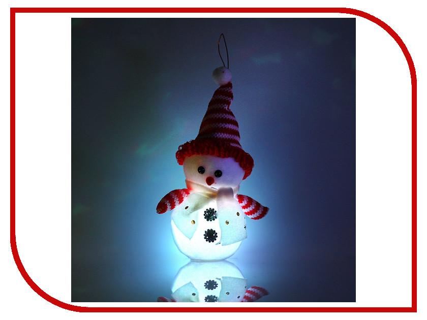 Новогодний сувенир Luazon Снеговик с руками White-Red 1077495<br>