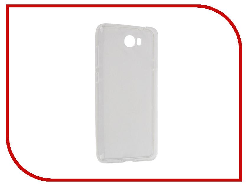 Аксессуар Чехол Huawei Y5II iBox Crystal Transparent аксессуар чехол htc desire 825 ibox crystal grey