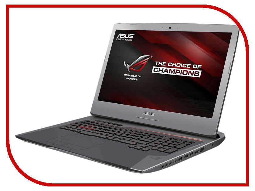 Ноутбук ASUS ROG G752VL-GC082T 90NB09Y1-M00940 (Intel Core i7-6700HQ 2.6 GHz/12288Mb/1000Gb + 128Gb SSD/DVD-RW/nVidia GeForce GTX 965M 2048Mb/Wi-Fi/Bluetooth/Cam/17.3/1920x1080/Windows 10 64-bit) ноутбук asus rog gl502vt fy010t 15 6 1920x1080 intel core i7 6700hq 90nb0ap1 m02120