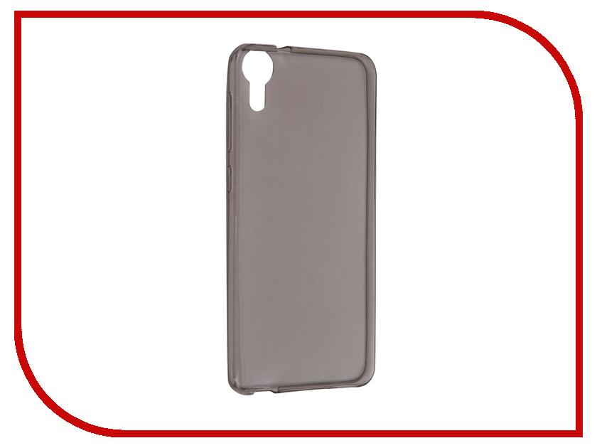 Аксессуар Чехол HTC Desire 825 iBox Crystal Grey чехол силикон ibox crystal для htc desire 516 316 прозрачный