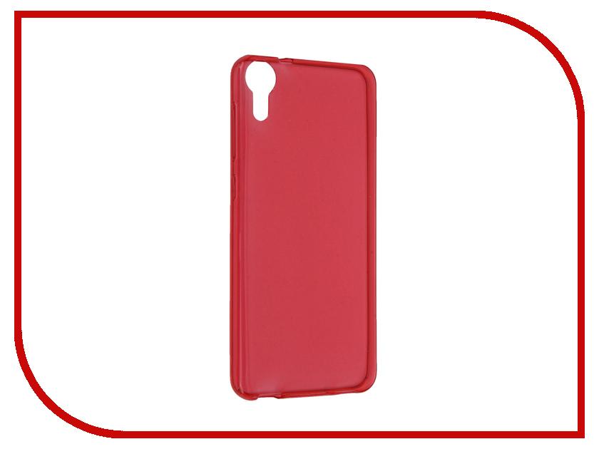 Аксессуар Чехол HTC Desire 825 iBox Crystal Red<br>