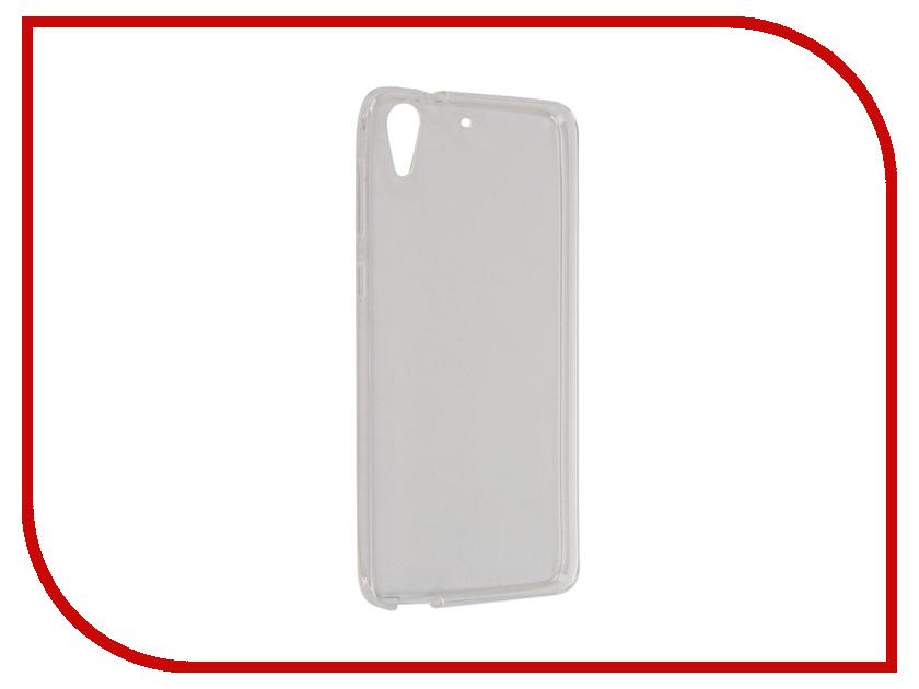 Аксессуар Чехол HTC Desire 728 iBox Crystal Transparent<br>