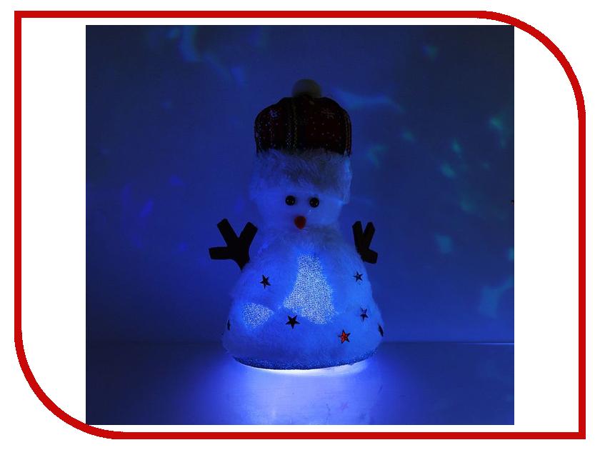 Новогодний сувенир Luazon Праздничный снеговик Blue 1077506