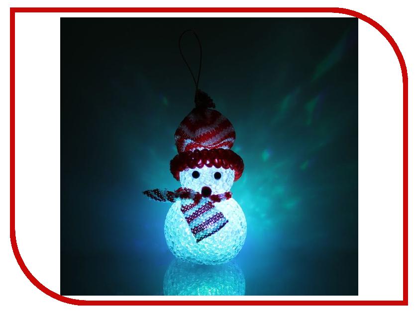 Украшение Luazon Снеговик Red 1351711 украшение luazon снежинка blue 2314974
