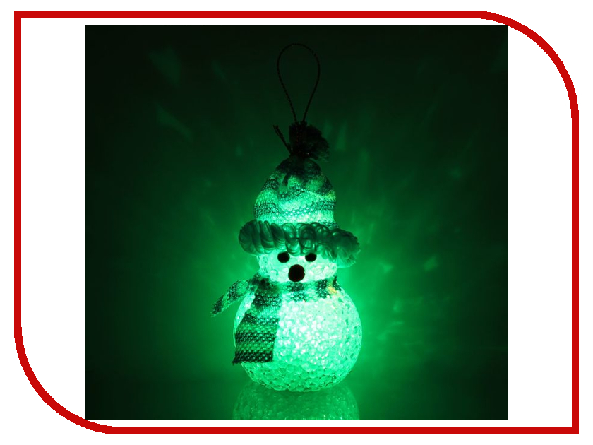 Новогодний сувенир Luazon Снеговик Blue 1351712