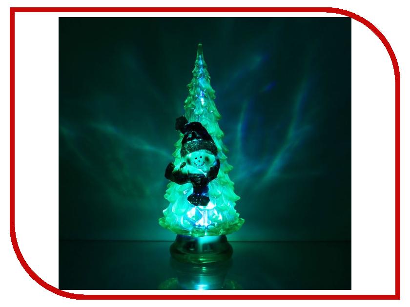 Новогодний сувенир Luazon Ёлочка снеговик Green 1353366