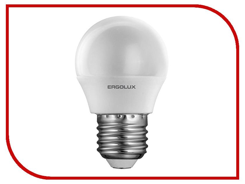 Лампочка Ergolux Шар LED-G45-7W-E27-3K 12143<br>