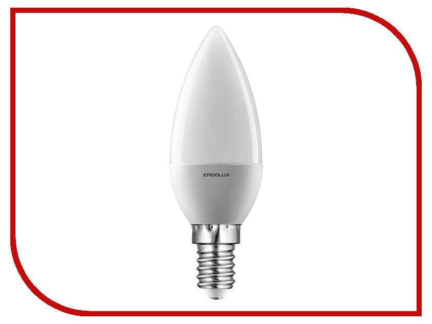 Лампочка Ergolux Свеча LED-C35-7W-E14-3K 12134<br>