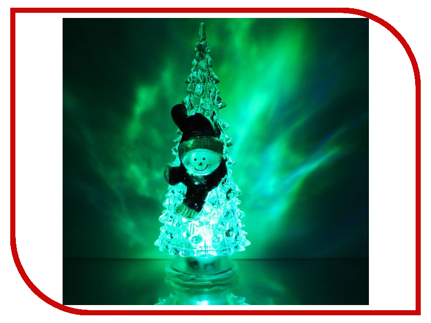 Новогодний сувенир Luazon Ёлочка снеговик 1353368<br>