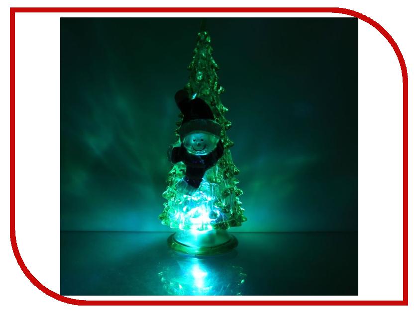 Новогодний сувенир Luazon Ёлочка снеговик Green 1353370 волшебная страна сувенир ёлочка