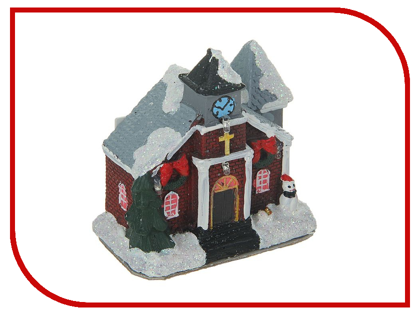 Новогодний сувенир Luazon Новогодний домик