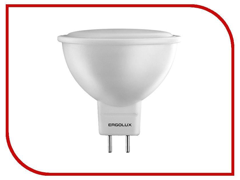 Лампочка Ergolux LED-JCDR-7W-GU5.3-4K 12159 лампочка ergolux свеча led c35 7w e14 4k 12135