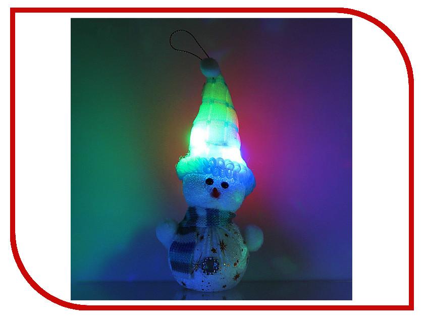 Украшение Luazon Снеговик со звездочками в шарфике 603010  манометр luazon 838200