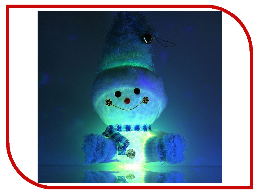 Украшение Luazon Веселый снеговик 603019 гирлянда luazon дождь 2m 6m multicolor 671678