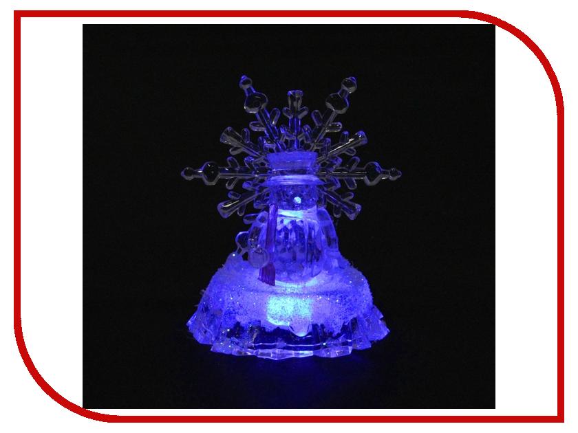 Новогодний сувенир Luazon Снеговик и снежинка 830706<br>