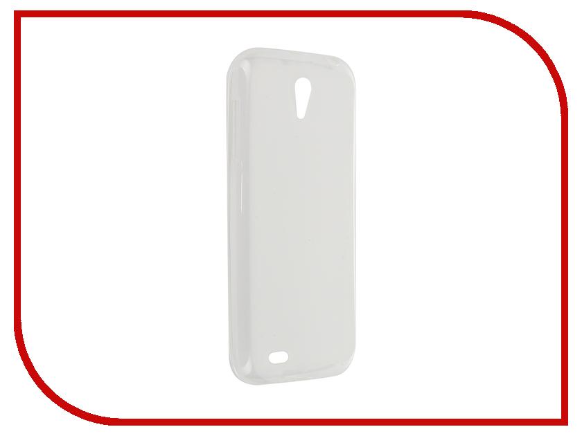 Аксессуар Чехол Lenovo A859 Activ Silicone White Mat 46849 аксессуар чехол накладка lenovo a328 activ silicone white mat 44237