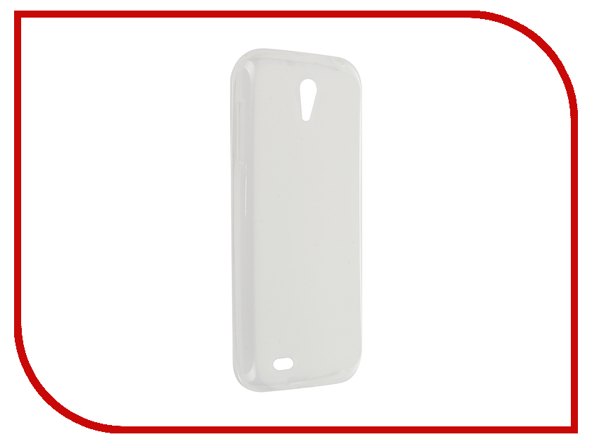 Аксессуар Чехол Lenovo A859 Activ Silicone White Mat 46849 аксессуар чехол накладка htc desire 516 activ silicone red mat 45818