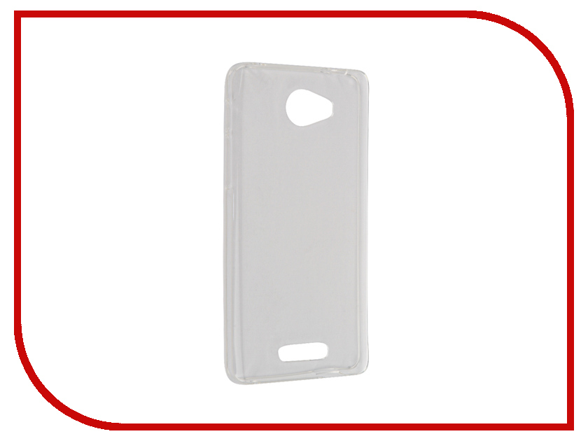 Аксессуар Чехол Alcatel OT5095 Pop 4S iBox Crystal Transparent<br>