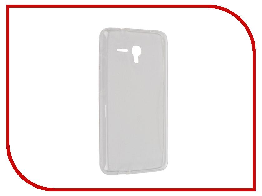 Аксессуар Чехол Alcatel OT5054 Pop 3 iBox Crystal Transparent<br>