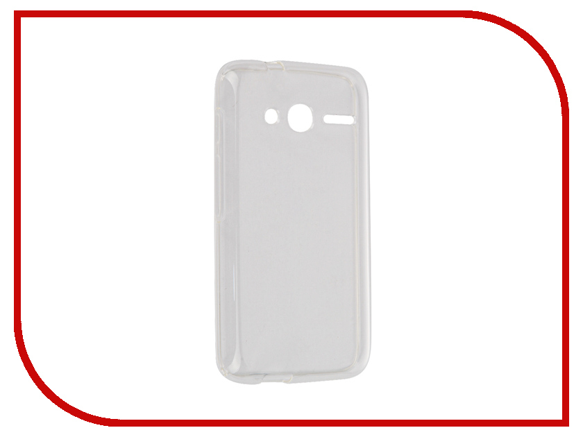 Аксессуар Чехол Alcatel One Touch 4034D Pixi 4 (4) iBox Crystal Transparent alcatel one touch idol 4 6055k купить
