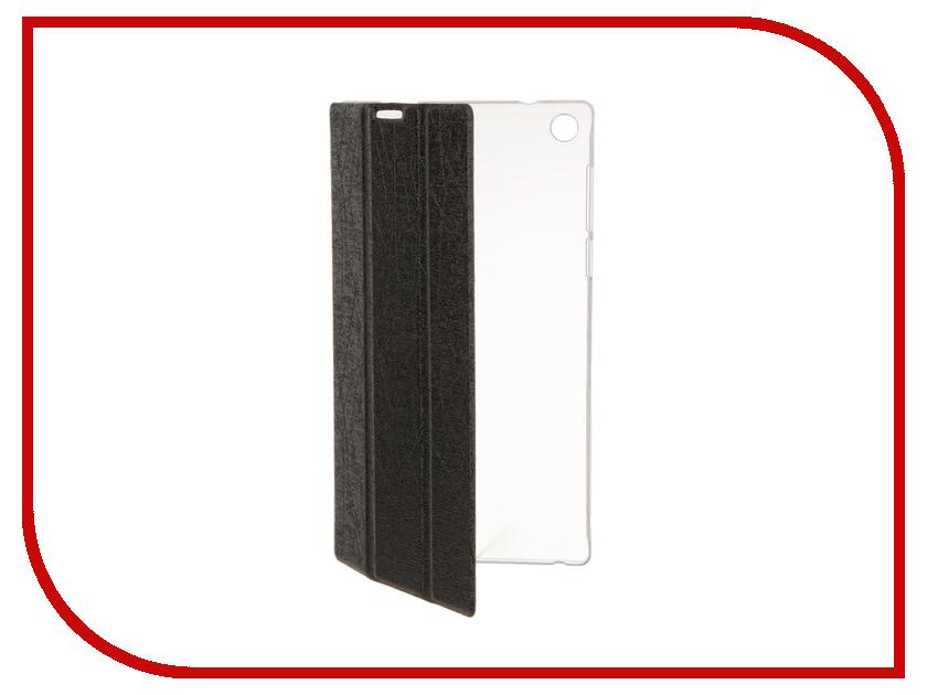 Аксессуар Чехол Lenovo Tab 2 A7-30 iBox Premium Black прозрачная задняя крышка