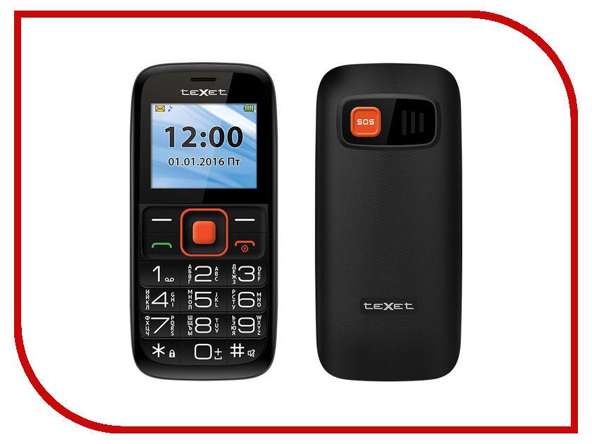 Сотовый телефон teXet TM-B117 Black-Orange<br>