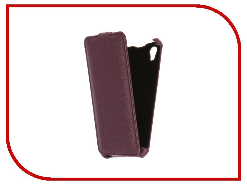 Аксессуар Чехол ZTE Blade X3 Zibelino Classico Purple ZCL-ZTE-X3-PUR<br>