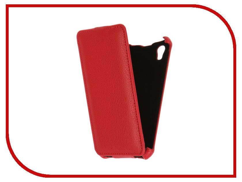 Аксессуар Чехол ZTE Blade X3 Zibelino Classico Red ZCL-ZTE-X3-RED<br>