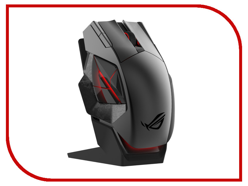 Мышь ASUS ROG Spatha Black USB 90MP00A1-B0UA00 asus rog swift pg278q
