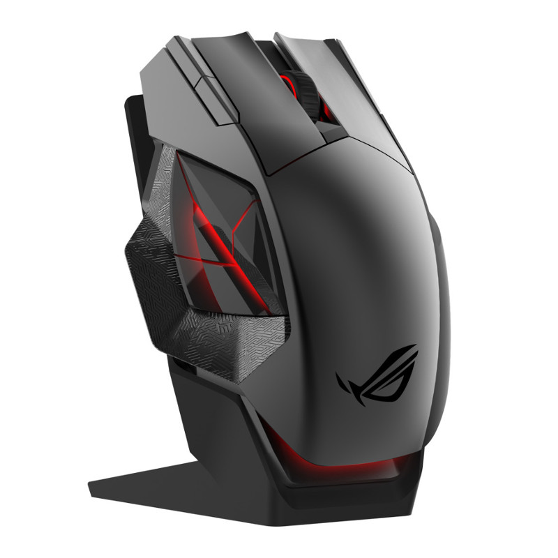 Мышь ASUS ROG Spatha Black USB 90MP00A1-B0UA00