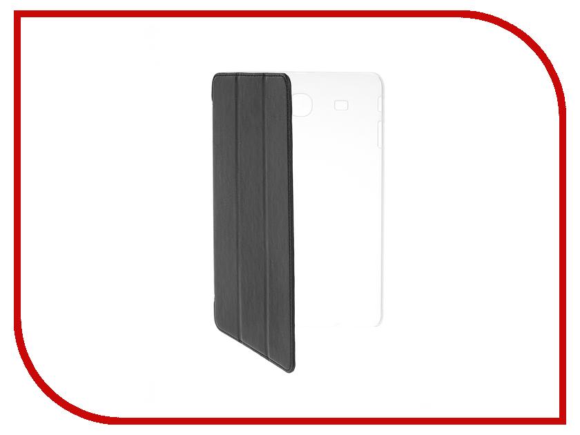 Аксессуар Чехол Samsung Galaxy Tab E 9.6 iBox Premium Black прозрачная задняя крышка