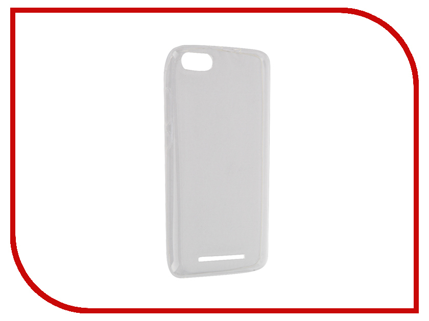 Аксессуар Чехол BQ BQS 5020 Strike iBox Crystal Transparent