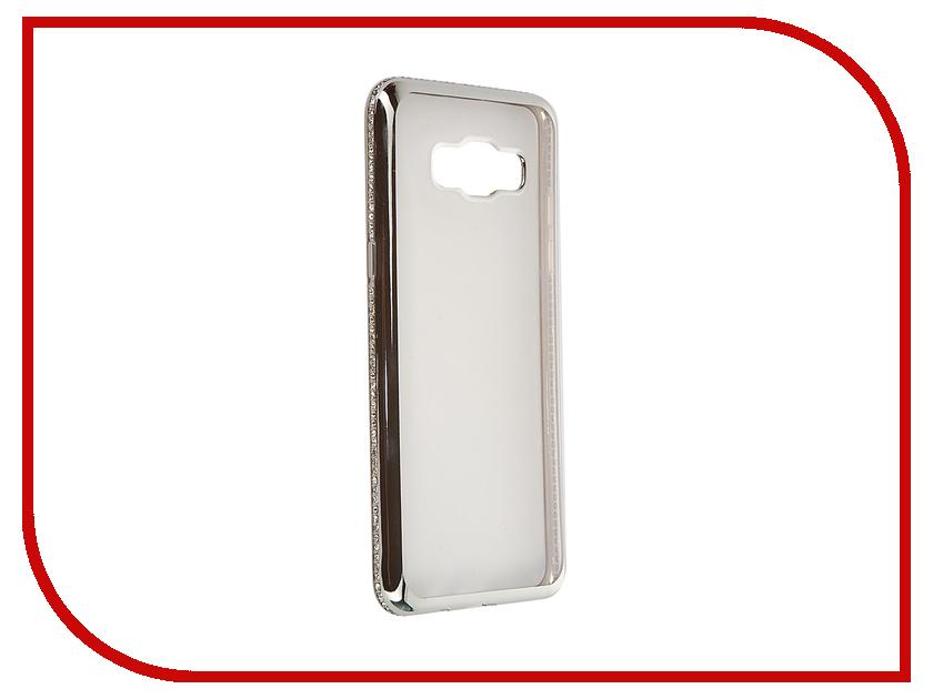 Аксессуар Чехол Samsung Galaxy J5 2016 AUZER Ultrathin со стразами 0.3mm Silver AC-SJ510FNBCSi<br>