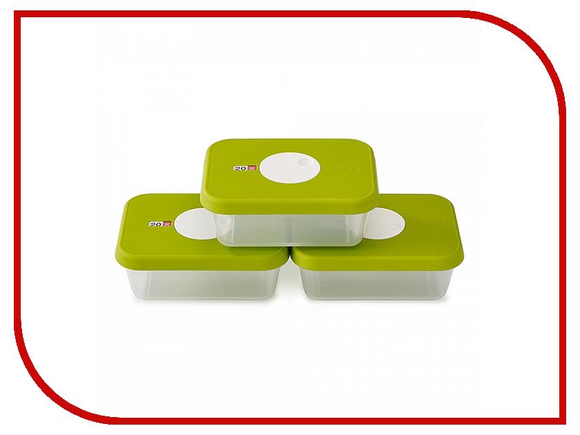 Кухонная принадлежность Joseph Joseph Dial - набор контейнеров для хранения продуктов датируемый 3шт 81041<br>