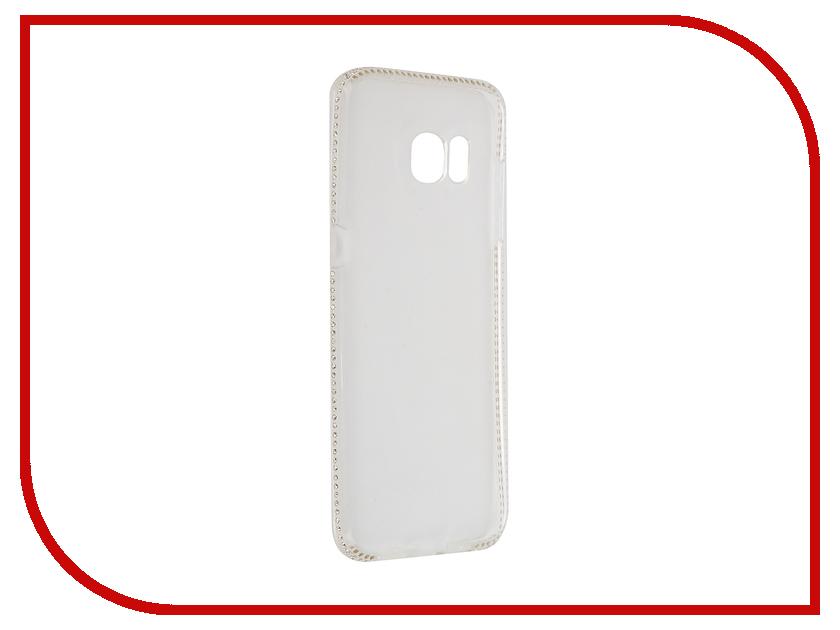 Аксессуар Чехол Samsung Galaxy S7 Edge AUZER со стразами 0.3mm AC-SS7EC<br>