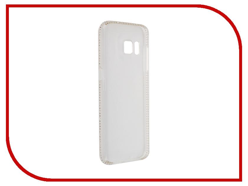 Аксессуар Чехол Samsung Galaxy S7 AUZER со стразами 0.3mm AC-SS7C<br>