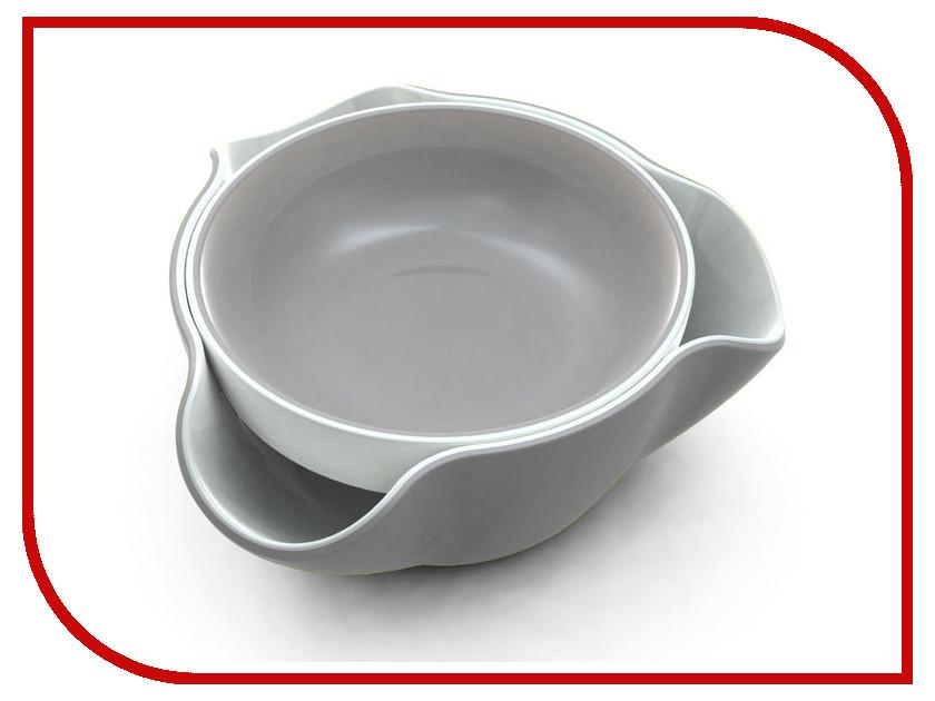 Кухонная принадлежность Joseph Joseph Double Dish блюдо для снека Grey DDWGR010GB