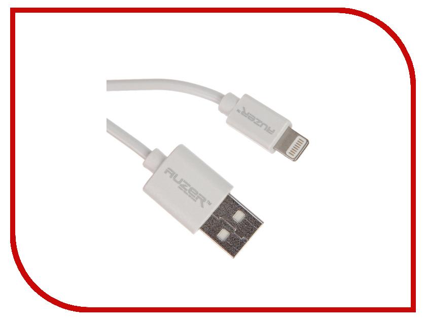 Аксессуар AUZER AC-L5 USB - Lightning 8 pin White AC-L5WT