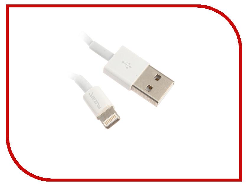 Аксессуар AUZER AC-L4 USB - Lightning 8 pin White AC-L4WT