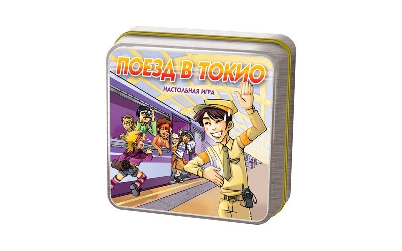 Настольная игра Cocktail Games Поезд в Токио цена