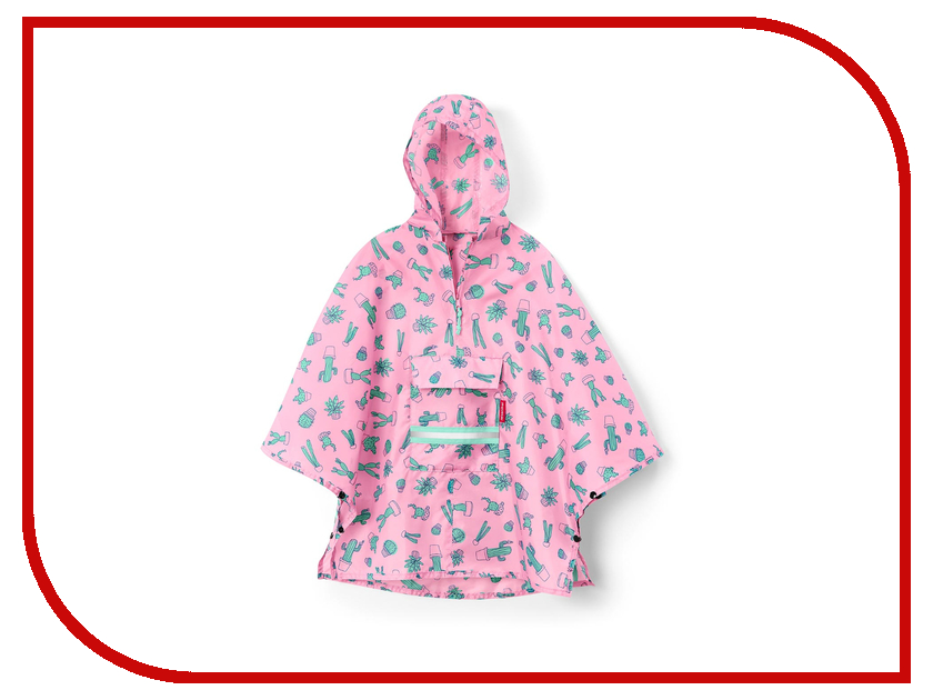 Плащ-дождевик Reisenthel Mini Maxi Cactus Pink IG3055