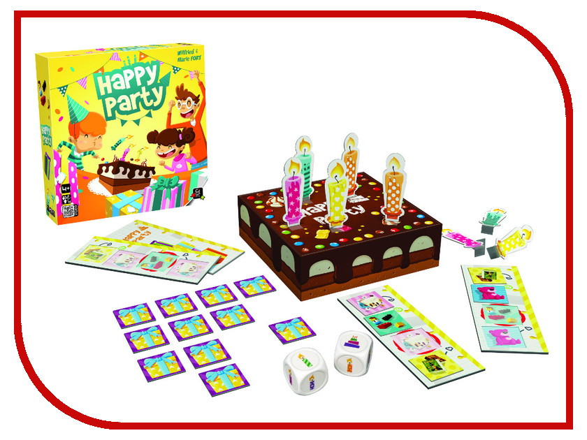 Настольная игра Gigamic Happy Party<br>