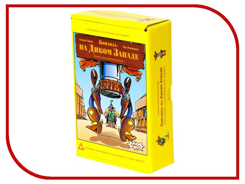 Настольная игра Amigo Spiel Бонанза на Диком Западе<br>