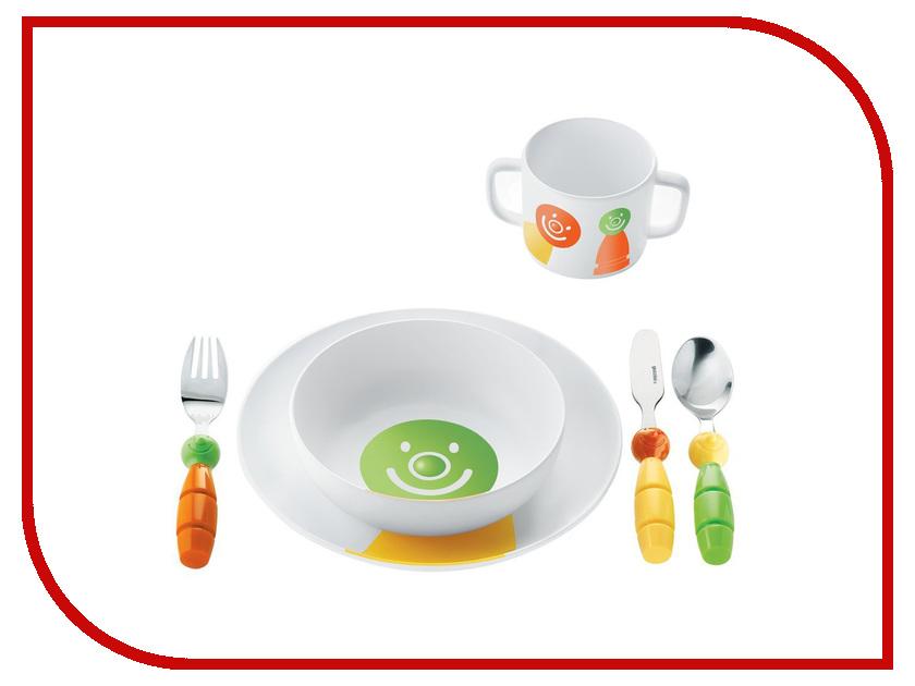 Кухонная принадлежность Guzzini Billo - набор обеденный White-Green 07500152<br>