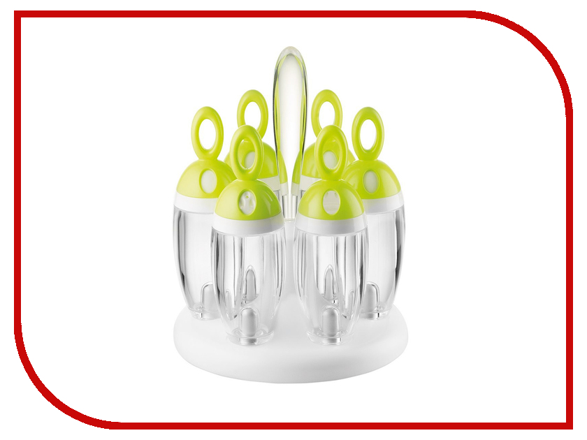 Набор для специй Guzzini My Kitchen Green 16810084 100 foolproof suppers my kitchen table