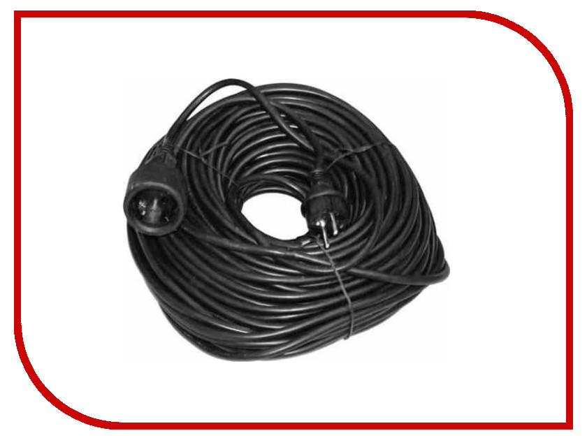Сетевой фильтр Volsten SG 1x50x1.5-Zb 1 Socket 50m Black 9371<br>