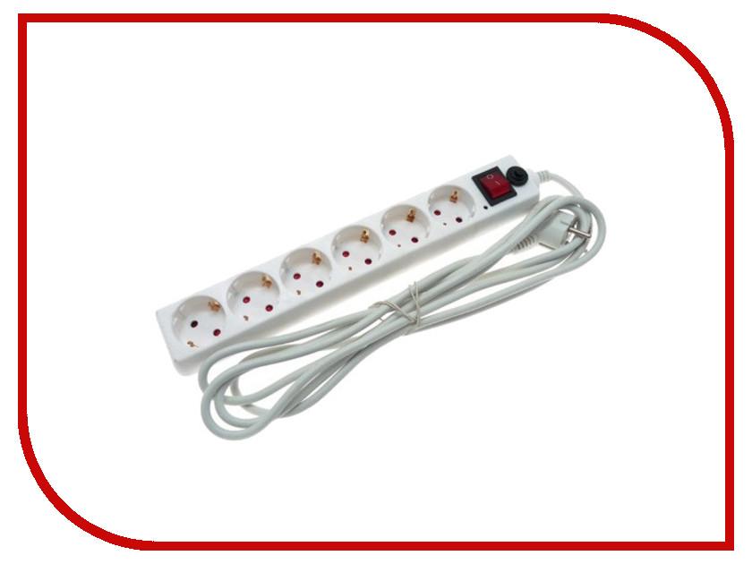 Сетевой фильтр Volsten SP 6x3 6 Sockets 3m 10652<br>